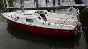 22 ft Hughes sailboat with trailor make offer