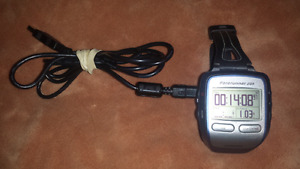 For sale,205 forerunner Garmin watch with charger station.