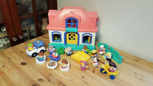 Little People House plus extras