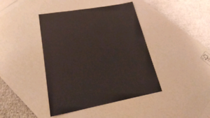 Black origami paper $1 for 10 sheets!
