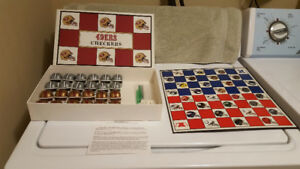 Vintage (1993)  49ers vs Cowboys Checkers Board Game