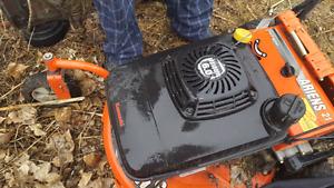 Kawasaki lawn mower
