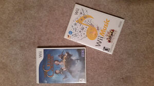 Wii Games - $6/each or 2 for $10