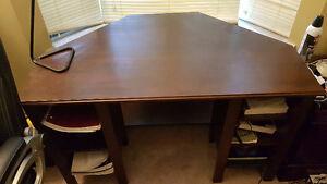 Brown Corner Desk
