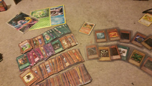 YU-GI-OH and magic cards