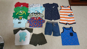 12 month boys summer lot