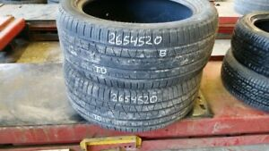 Pair of 2 Pirelli Scorpion Verde All Season 265/45R20 tires (70%
