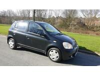 2005 TOYOTA YARIS 1.0 VVT-i COLOUR COLLECTION, 5 DOOR HATCH, 58,000 MILES