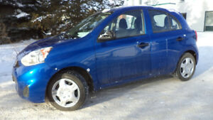 15 MICRA - 4DR - 5SPD MANUAL  - NEW TIRES - ONLY 60,000KMS