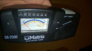 MATRIX SR-2500 TUNER FOR ACOUSTIC