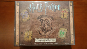 New Sealed Harry Potter Hogwarts Battle Board Game