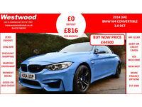 BMW M4 3.0 ( 425bhp ) ( s/s ) M DCT 2014MY M4
