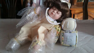 3 Collectible Porcelain Dolls - One low price