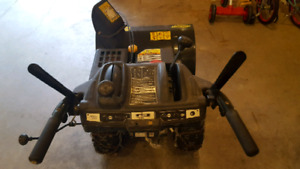 "357 cc 30"" cut Yardman Snowblower."