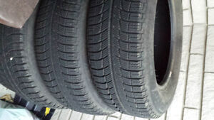 four Michellin tubeless Winter tires Kitchener / Waterloo Kitchener Area image 2