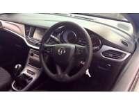2016 Vauxhall Astra 1.4T 16V 125 Design 5dr Manual Petrol Hatchback