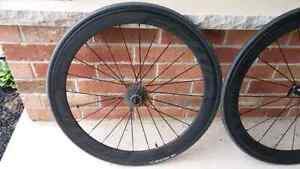 For sale: 50mm Carbon Clincher wheels