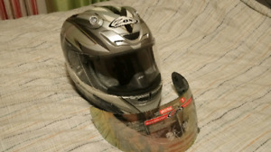 8ab9cc05 Zox motorcycle Helmets Spectra R Speedfreak Full Face Helmet Some  scratches. Zox Helmet with Visor, Small