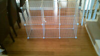 1 x 6 and 1 x 7 Pack Modular Storage Cube