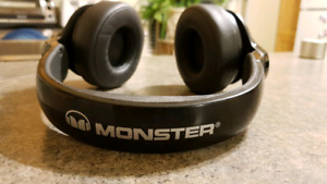 Monster N-pulse over ear headphones