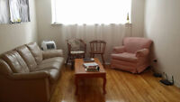 Room for rent in spacious 2 bedroom apt; until May