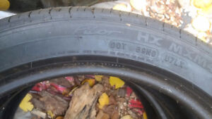 Pair of 17 inch Michelin Pilot sport tires