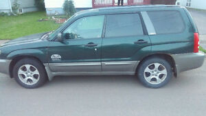 2004 Subaru Forester xl fully loaded SUV, Crossover