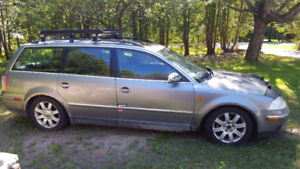 2002 Volkswagen Passat Wagon For Sale as Is or as use as Parts