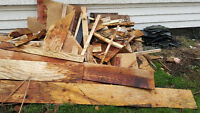 Free Wood and Reno Scraps *nails/screws in some of the wood