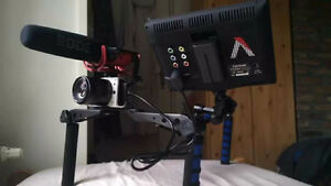 DSLR AND CAMCORDER RIG