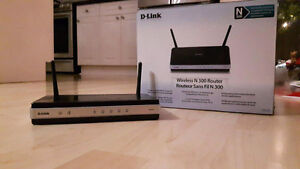 D-Link Wireless N 300 Home Router