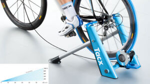 TacX Blue Motion Bike Trainer - Mint Condition