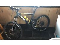 Carbon fibre Scott race concept bike for sale or swap why