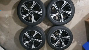 "2017 Honda Civic Touring 17"" Rims and Tires **NEW**"