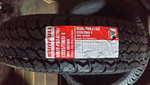 LT225/75R16 SUNFULL A/T $ 250.00 CASH AND CARRY