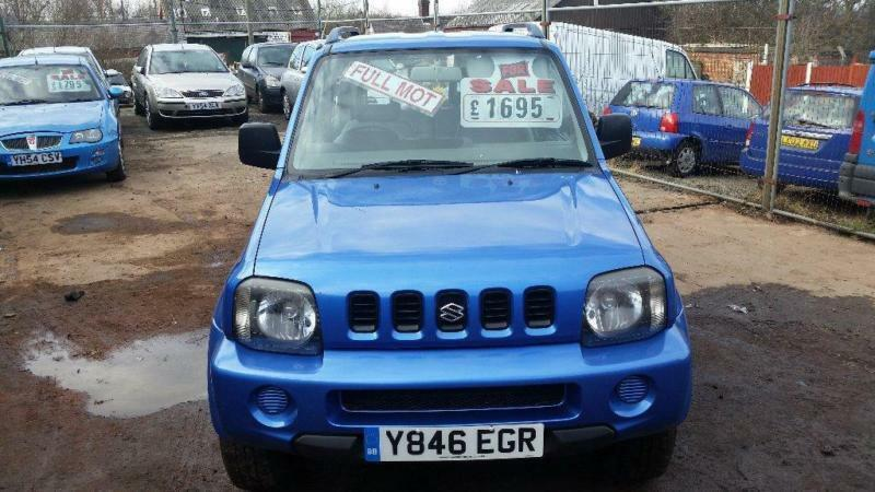 2001 suzuki jimny 1 3 jlx 3dr in bolsover derbyshire gumtree. Black Bedroom Furniture Sets. Home Design Ideas