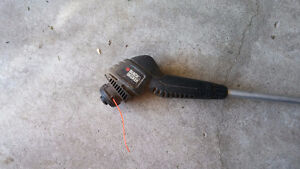 BLACK AND DECKER WEED TRIMMER ELECTRIC