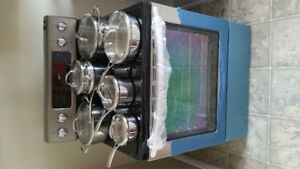 kitchenaid stainless steel convection stove $1500 obo
