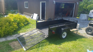 Heavy duty atv trailer for sale