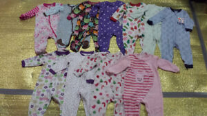 Baby Girl clothes for $1.00 each