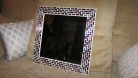 Really nice mosaic mirror