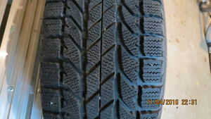 Winter Tire/Steel rims & Mag rims with summer tire for sale Kingston Kingston Area image 2