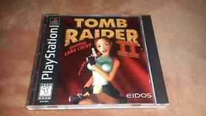 For sale, tomb rider ll  ps1. London Ontario image 1