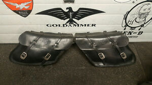 Harley FXR Latigo saddlebags