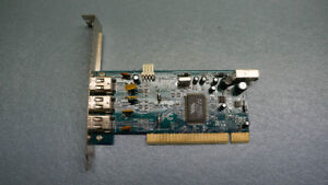 VIA Firewire expansion card  PCI 4 Ports