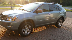 2008 RX 350 SUV. $12,0.00 (Blue on Tan leather)