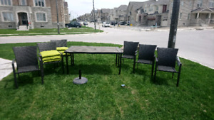 Resin Patio Dining set