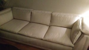 Cream color couch