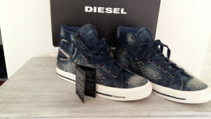 DIESEL BRAND  MEN'S   FASHION  SNEAKER