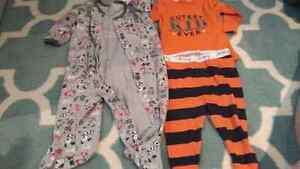 6 to 9 month boy's onesies
